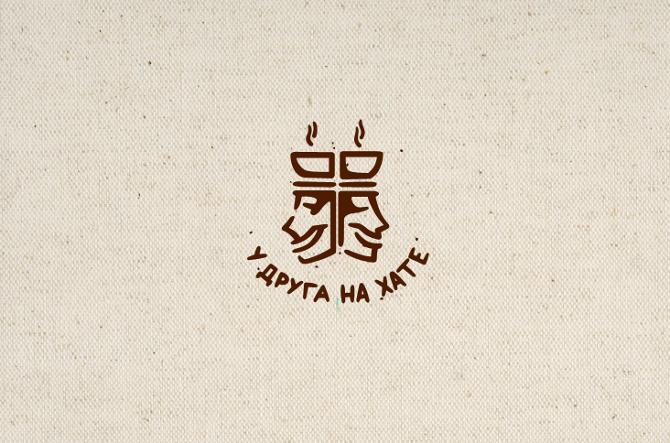 логотипы кофеен: