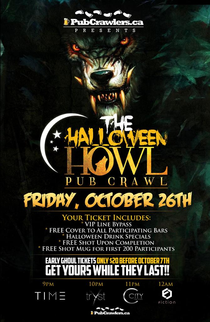 The Halloween Howl Poster - Richard Bude, UX/UI Designer