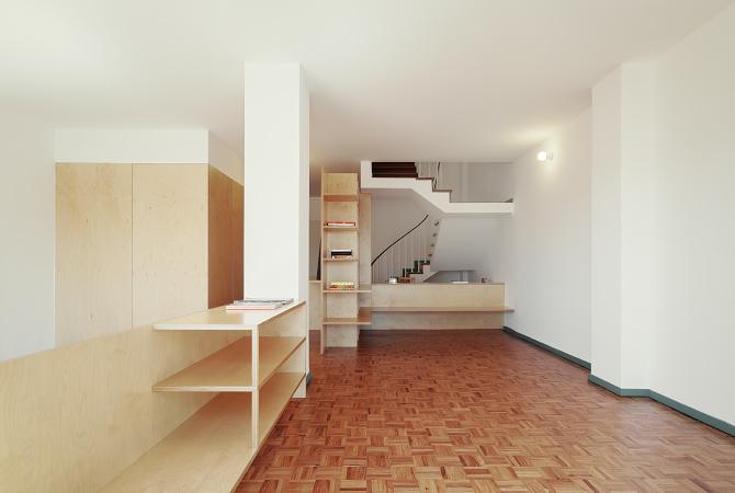 Apartamento rua de aveiro jo o branco paula del r o - Dividere una camera in due ...