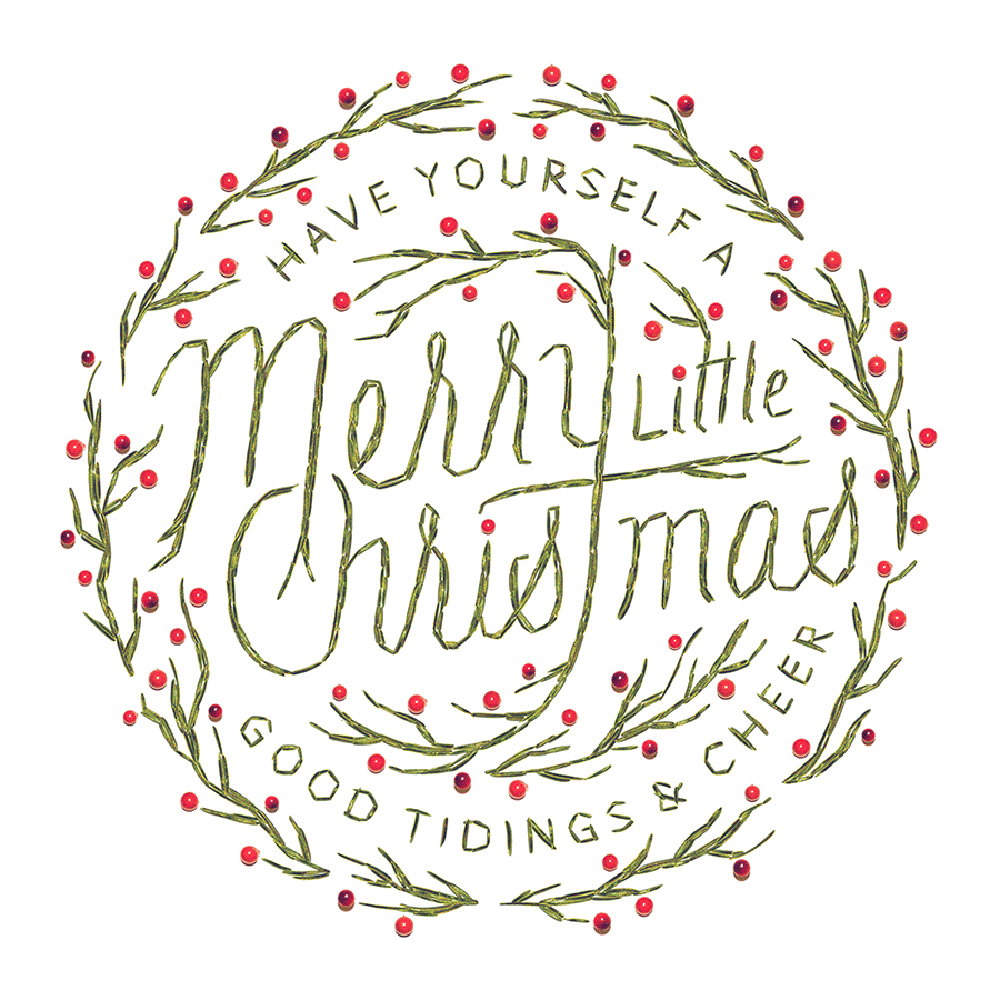 Have Yourself A Merry Little Christmas Card Design